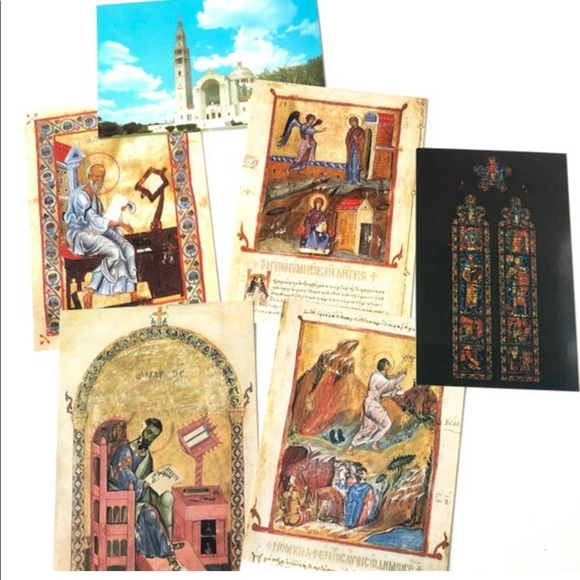 WASHINGTON DC Postcards 6PC Cathedral Church